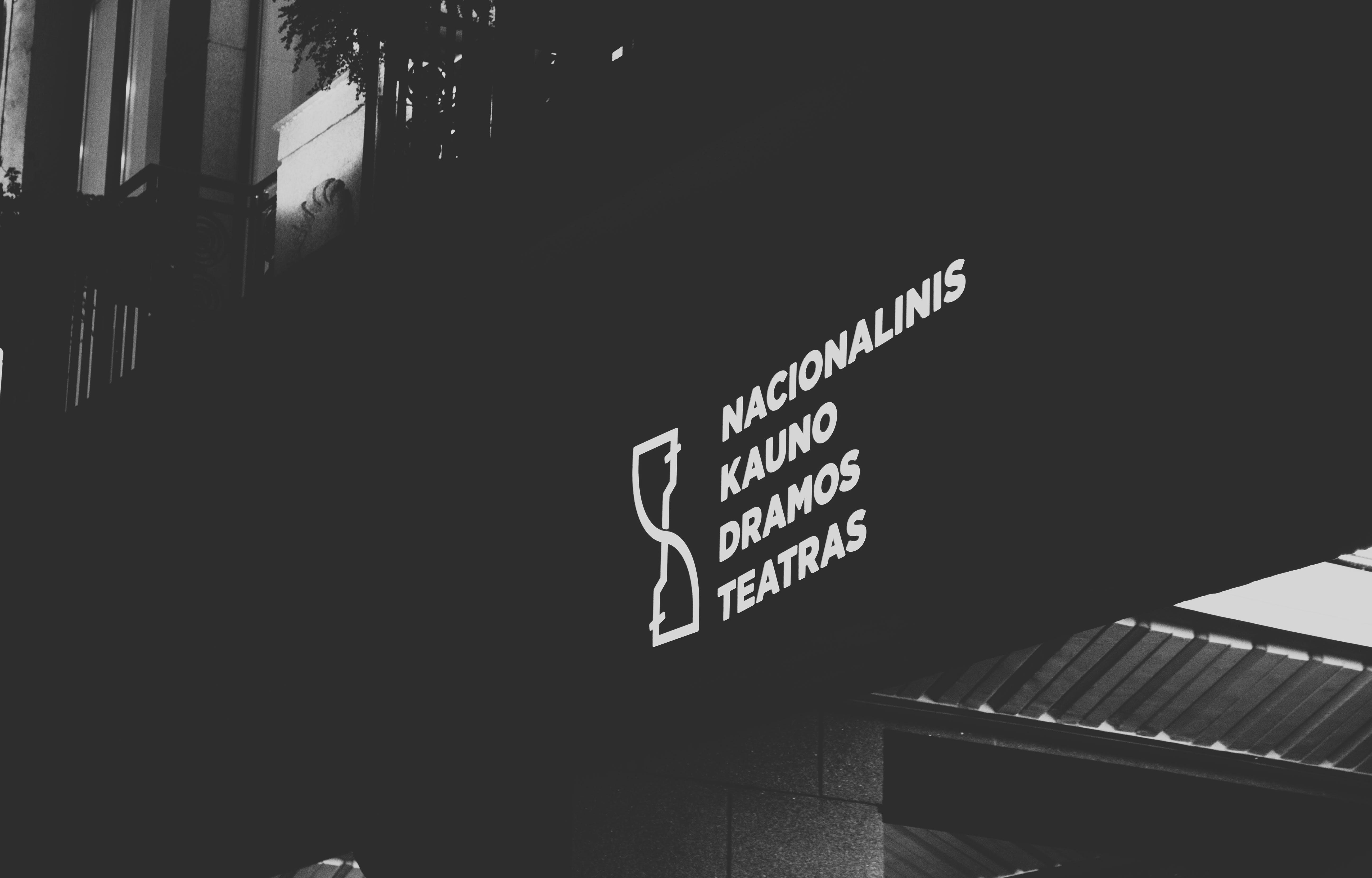 Nacionalinis Kauno Dramos Teatras Signage
