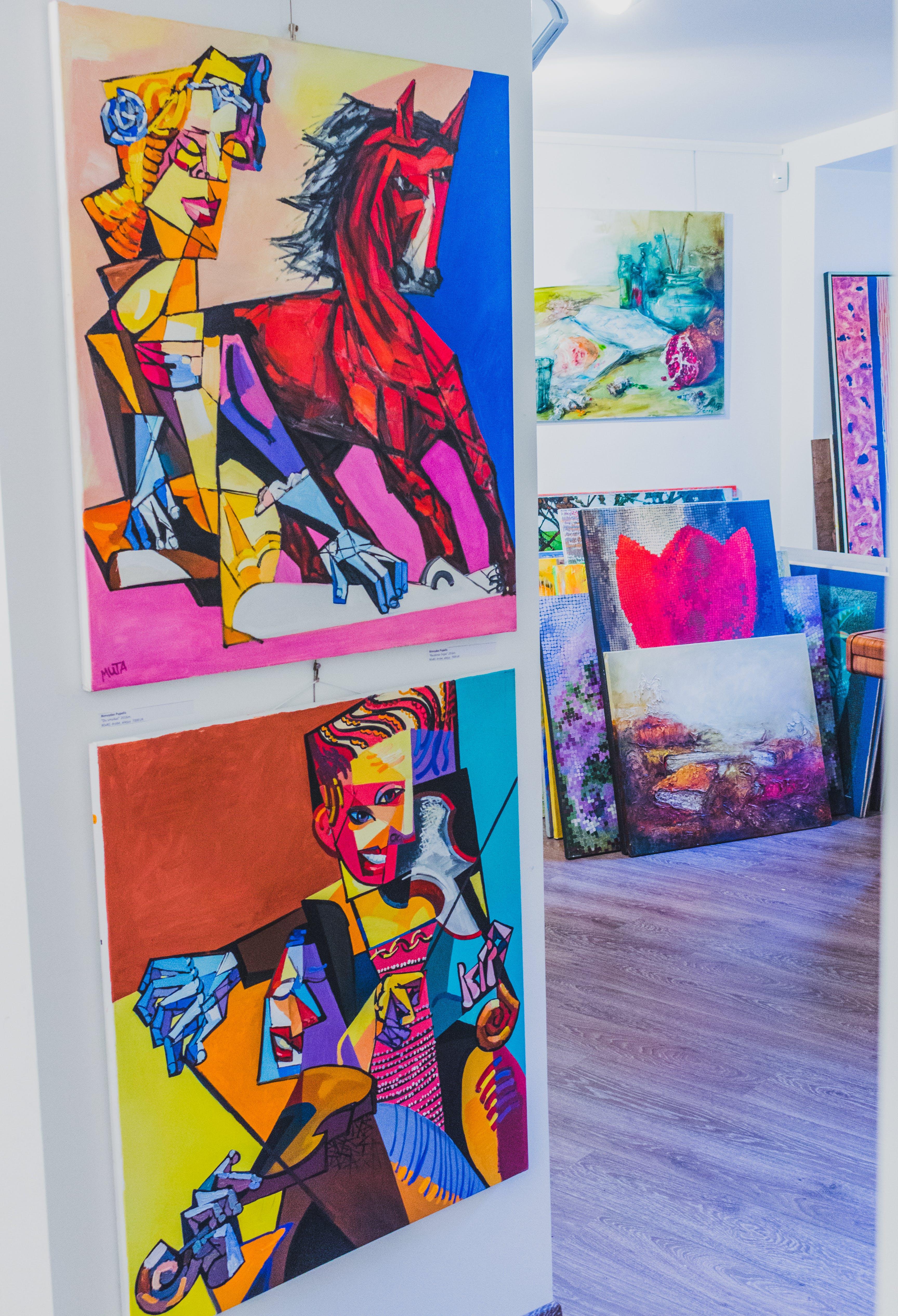 創作的, 室內, 插圖, 美術館 的 免費圖庫相片
