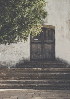 Free stock photo of wood, steps, wall, house