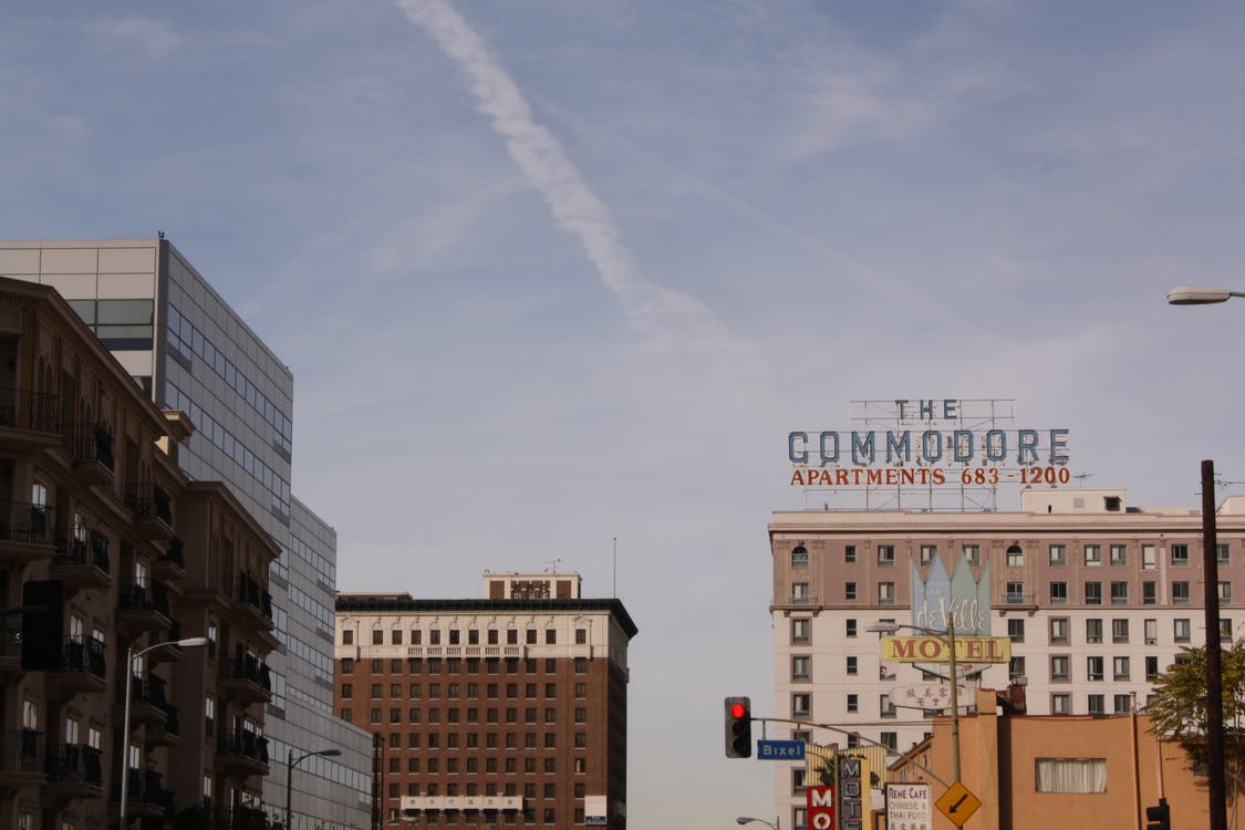 Free stock photo of downtown