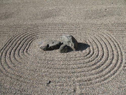Free stock photo of rock garden, zen