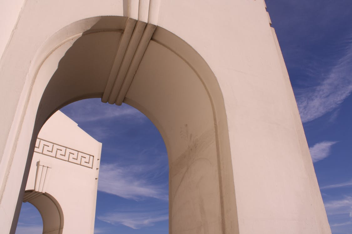 Free stock photo of arches, los angeles