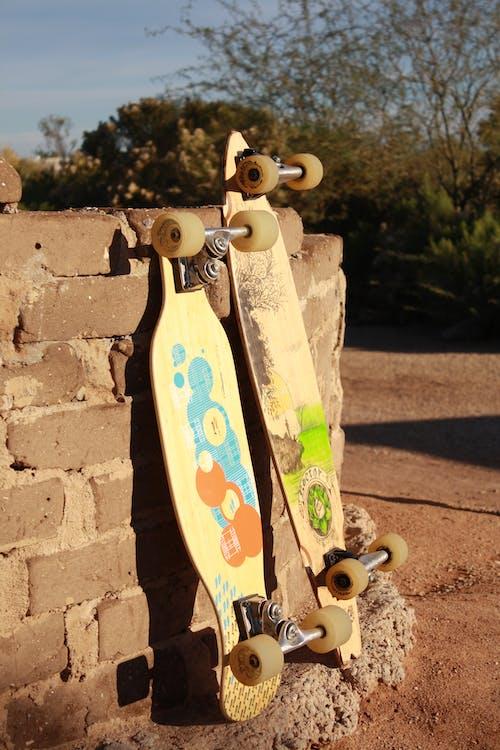 Free stock photo of longboard, skateboard
