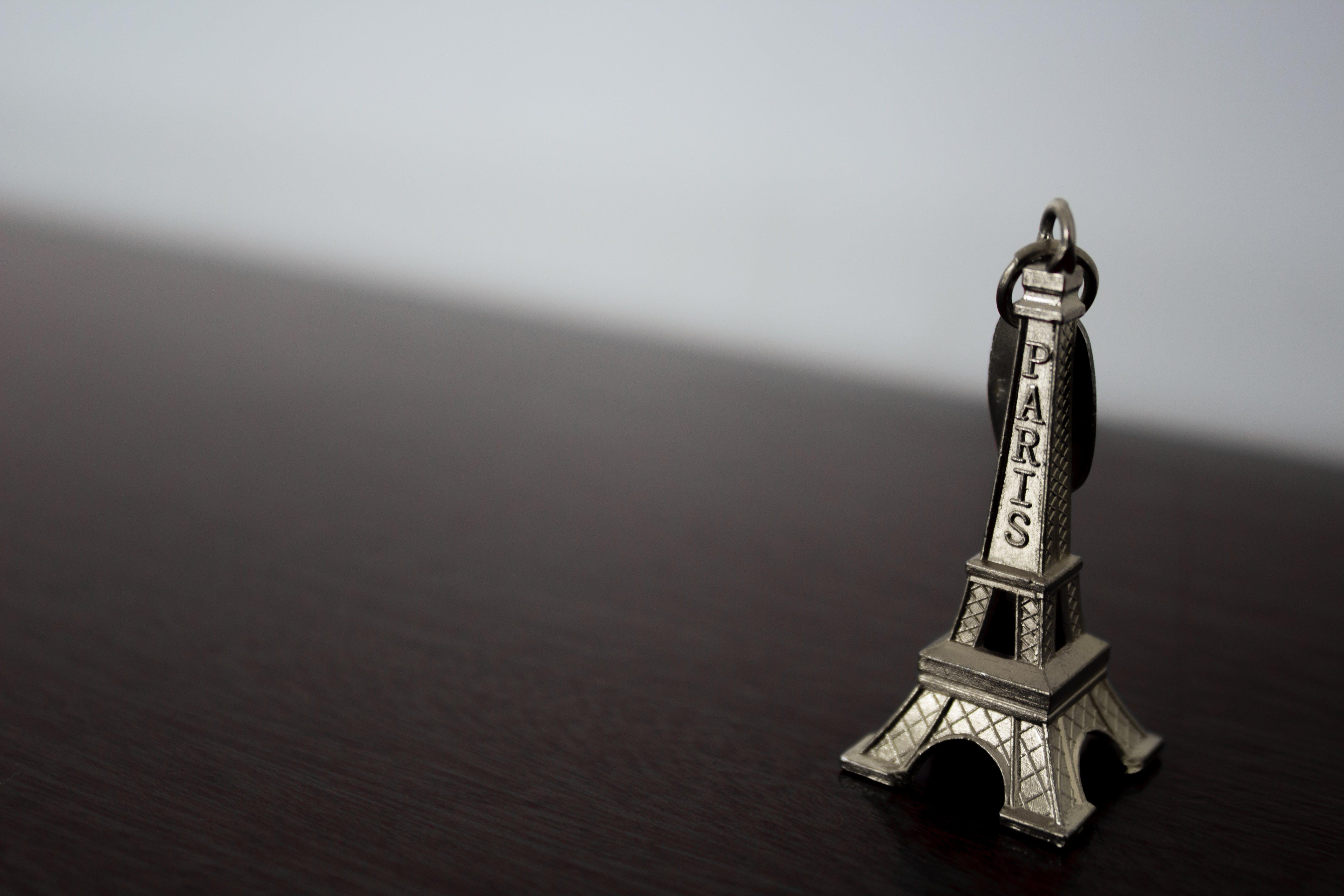 Foto profissional grátis de P&B, Paris, Torre Eiffel