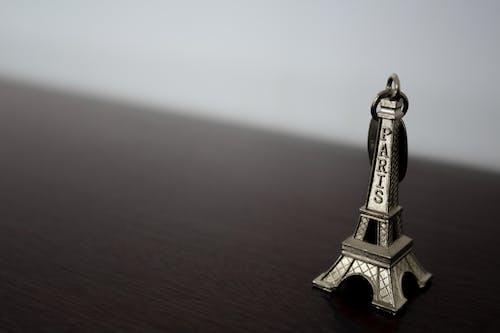 巴黎, 艾菲爾鐵塔, 黑與白 的 免费素材照片