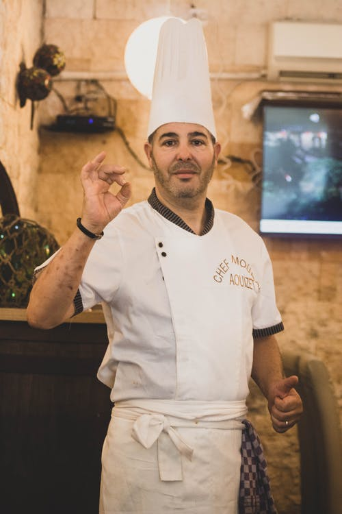 Free stock photo of african man, algeria, ali meddah, chef