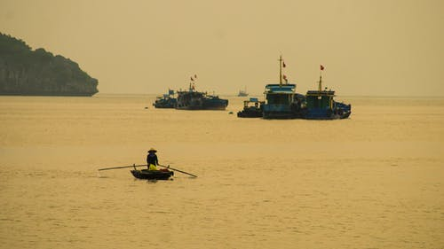 Gratis lagerfoto af halong bay, lanha bay, vietnam