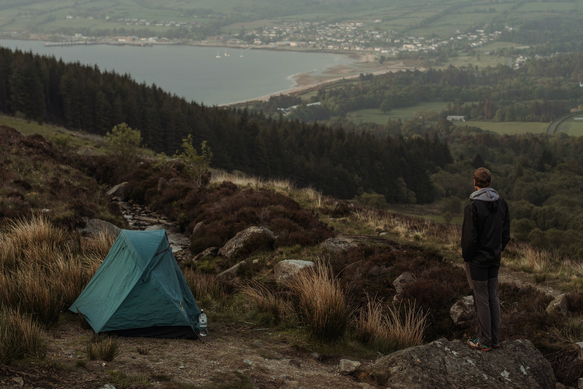 Wild Camping. One way to enjoy a Scottish Staycation.