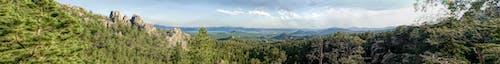 Imagine de stoc gratuită din dealurile negre, panoramă