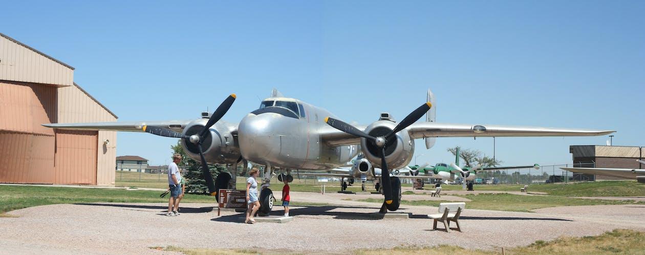 b-25, 全景, 轰炸机
