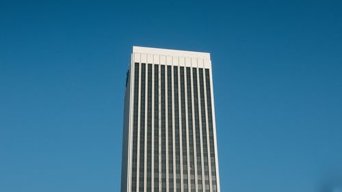 White High-rise Building