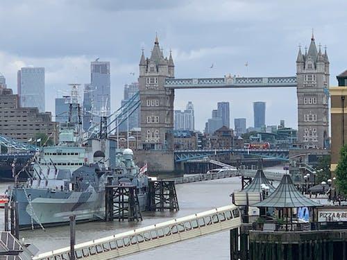 Foto stok gratis jembatan london, Jembatan Menara
