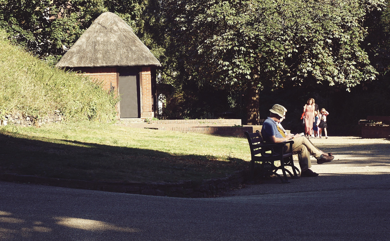 Lavičce v parku