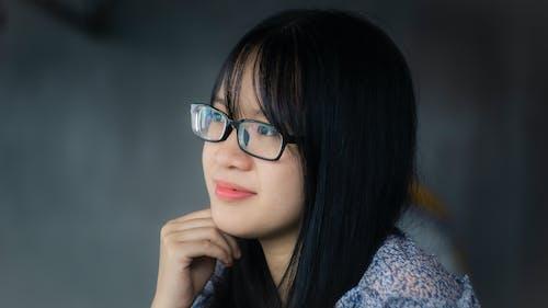 Foto stok gratis gadis asia, potret