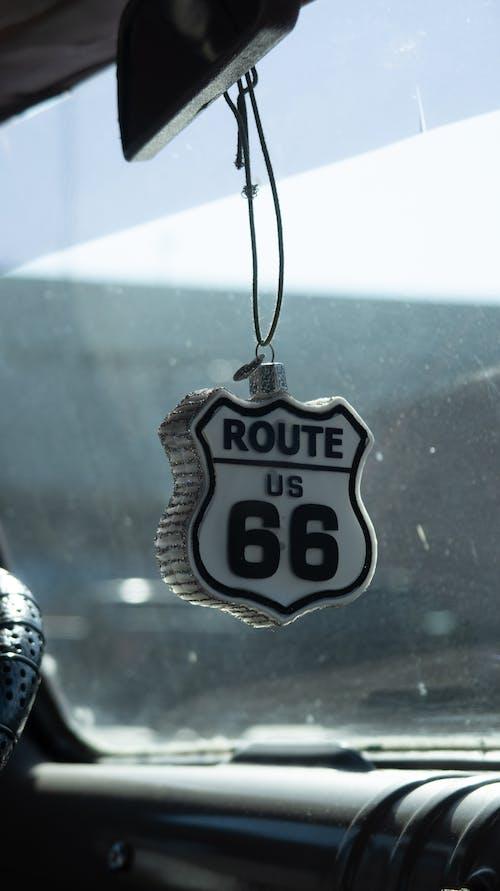 Δωρεάν στοκ φωτογραφιών με ανεμοθώρακας, αυτοκίνητο, διακόσμηση, δρόμος 66