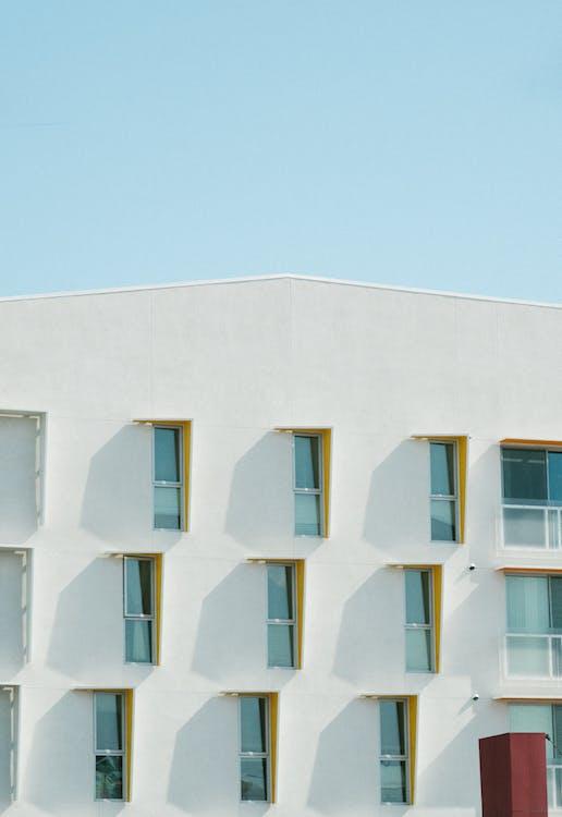 arquitectura, bloc de pisos, casa
