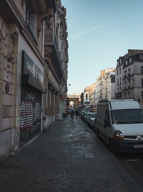 Kostnadsfri bild av besök paris, färgrik, färgstark solnedgång, gata