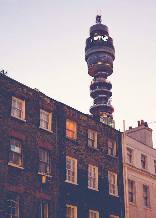 Бесплатное стоковое фото с bt tower, архитектура, башня, горизонт