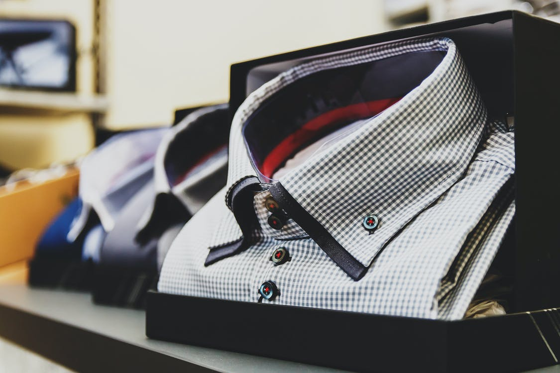 Selective Focus Photography White Button-up Collared Top