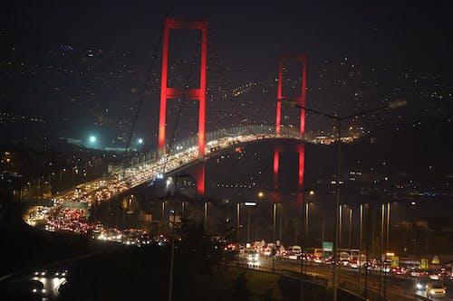Free stock photo of bridge, colors, Istanbul