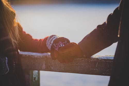 겨울, 겨울 옷, 남자, 낭만적인의 무료 스톡 사진