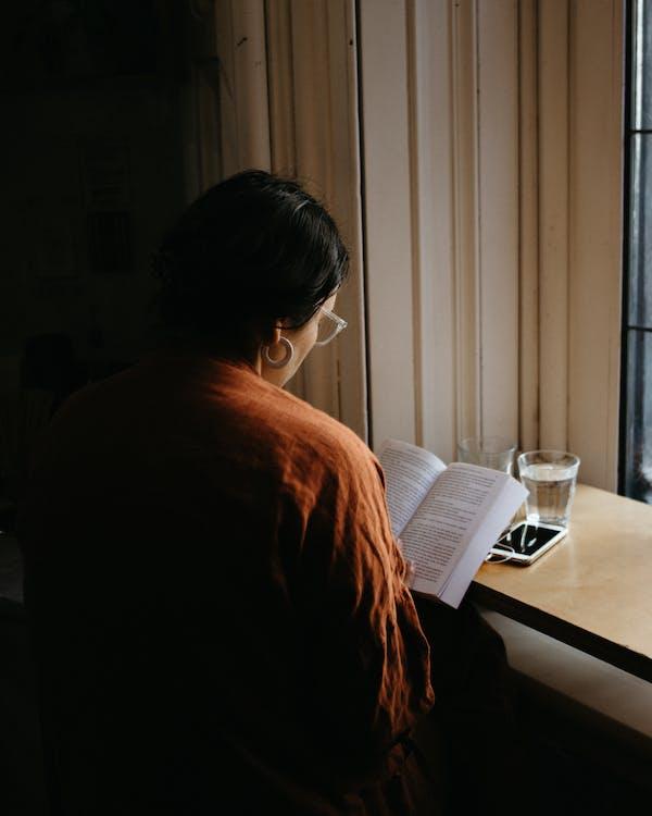 czytać, czytanie, drink