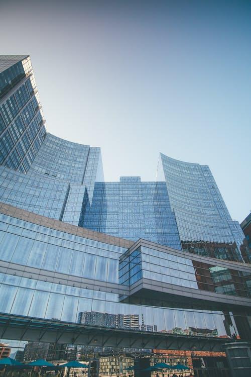 Imagine de stoc gratuită din albastru, boston, clădiri, localitate