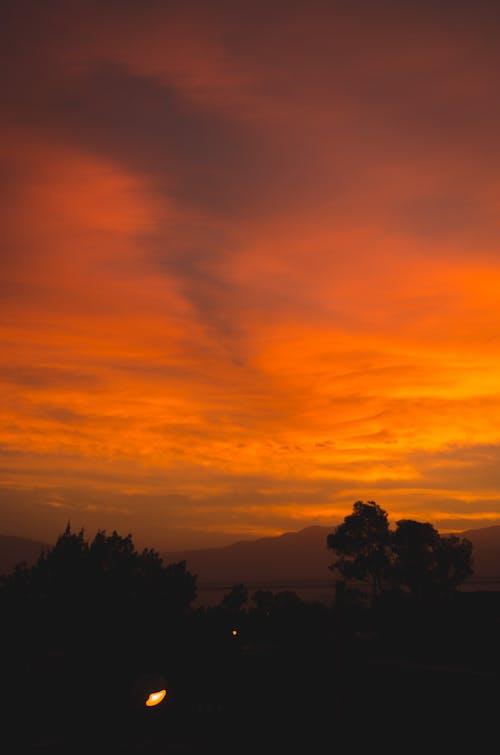 Kostenloses Stock Foto zu atardecer, berge, cerros, goldene stunde