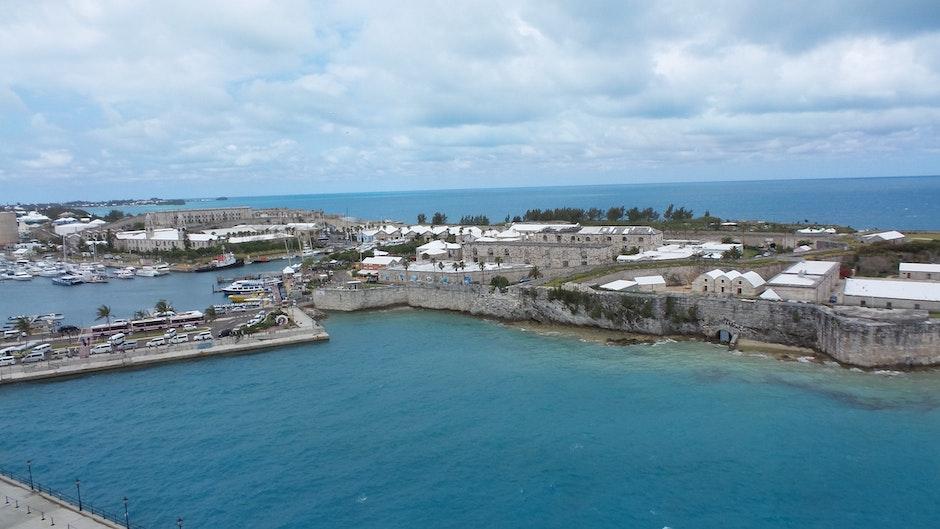 bermuda, blue water, caribbean