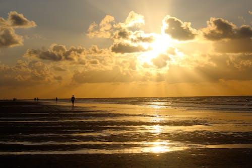 Photos gratuites de eau, lever de soleil, nature, océan