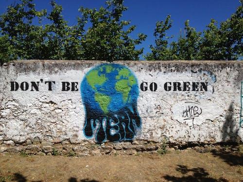 Photos gratuites de éco, éco-système, énergie propre, graffiti