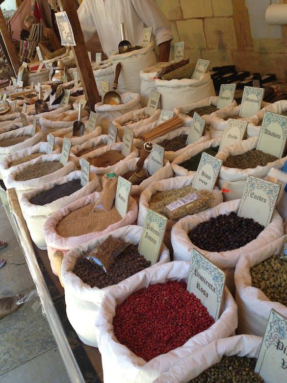 Free stock photo of herb, herbs, market