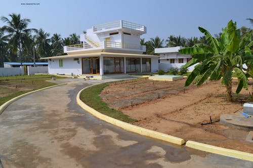 Free stock photo of modern house