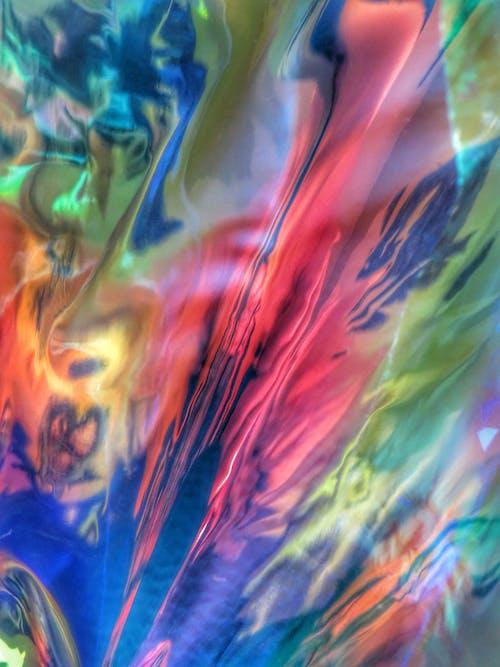 Kostnadsfri bild av abstrakt, artsy, bakgrund, färger