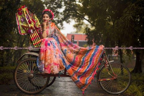 색깔, 소녀, 아시아 여성, 아시아의의 무료 스톡 사진