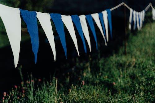 Gratis arkivbilde med flagg, gress, hengende