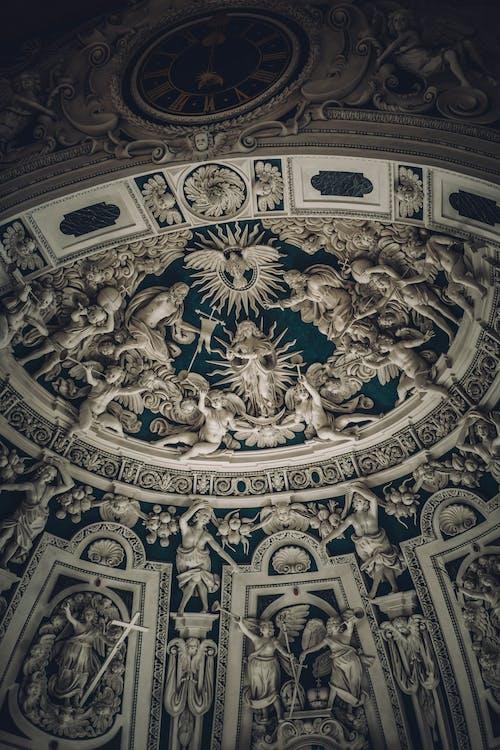 Foto profissional grátis de abóboda, arquitetura, barroco, capela