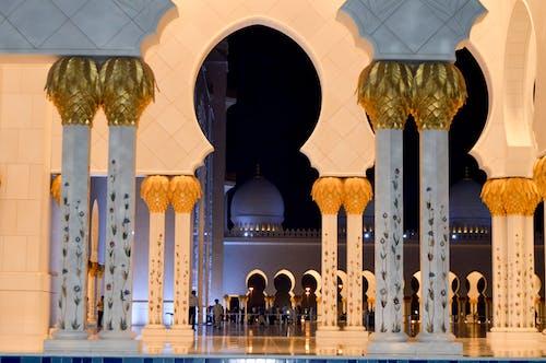 Free stock photo of abu dhabi, mosque, Sheikh Zayed Mosque, uae