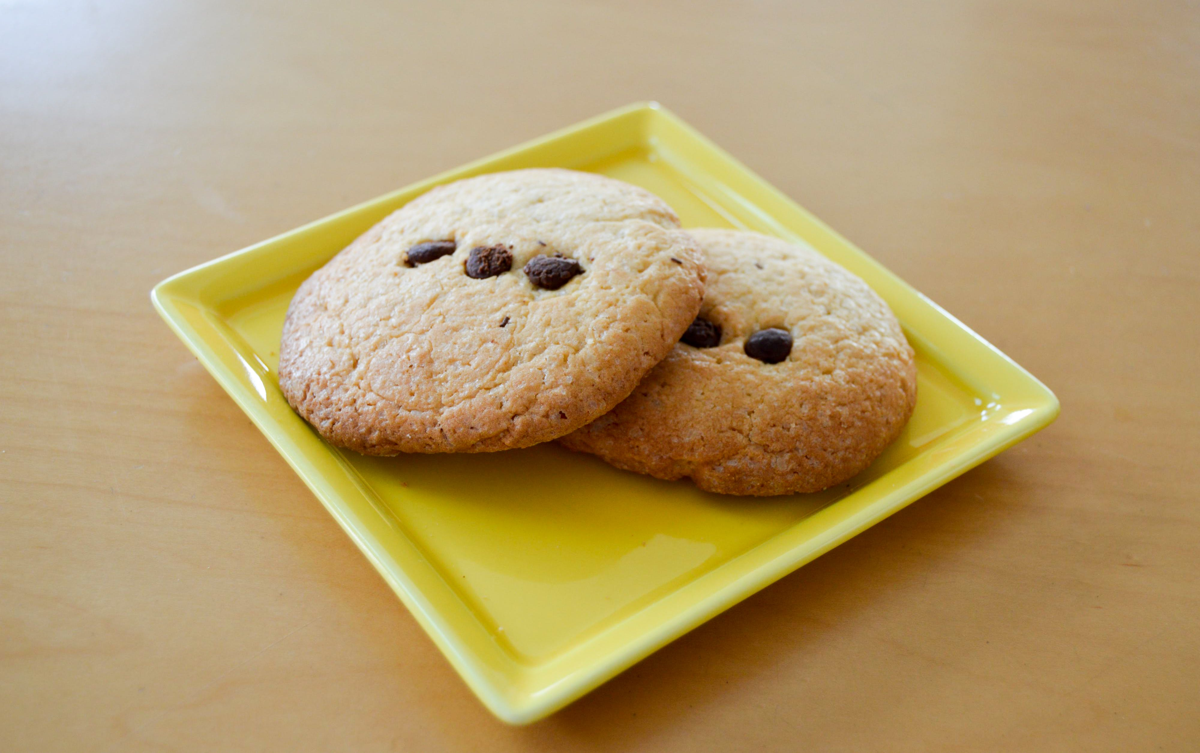 Two Chocolate Chip Cookies