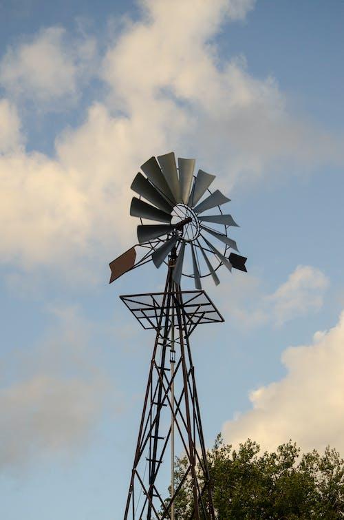Gratis lagerfoto af himmel, hjul, mølle, sky
