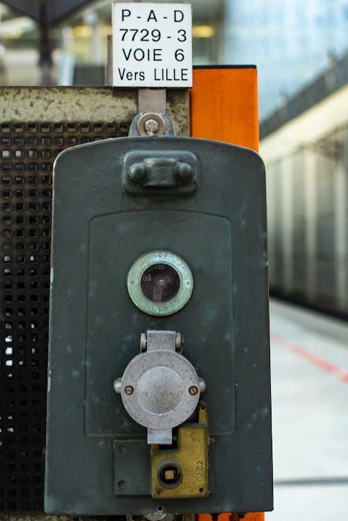 Foto stok gratis melatih, mesin, Perancis, stasiun