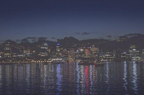 Free stock photo of boats, city center, city lights, cityscape
