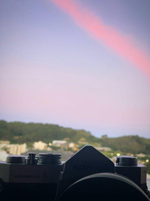 Free stock photo of autoreflex A, Beautiful sunset, city, dramatic sky