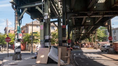 Free stock photo of under a bridge