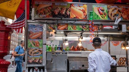 Free stock photo of food cart