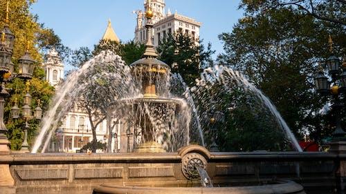 Free stock photo of fountain, Park Fountain