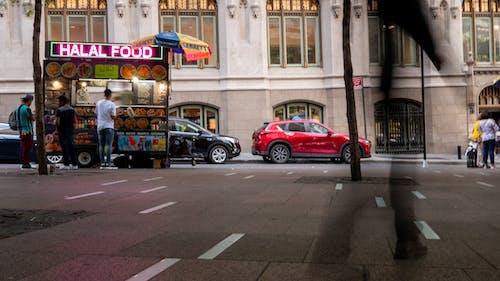 Free stock photo of food cart, halal food