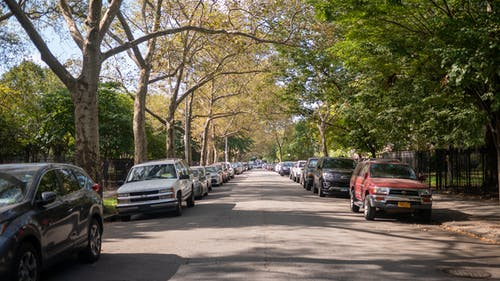 Free stock photo of parking, street parking