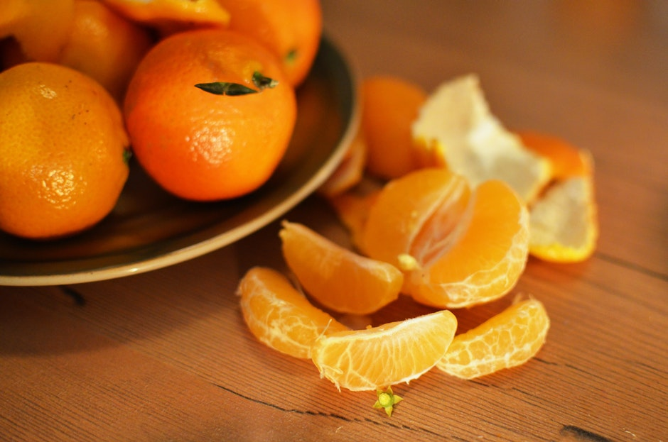 fruits, healthy, oranges
