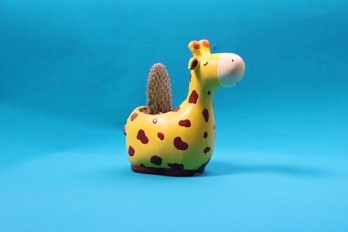 Photos gratuites de cactus, fleur de cactus, girafe, statue